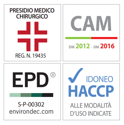 certificazioni prodotto disinfettante