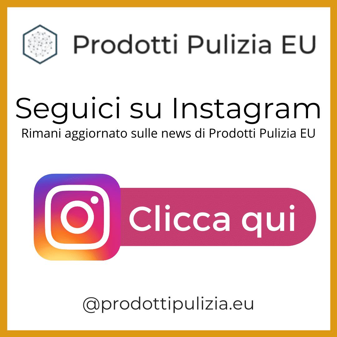 prodotti pulizia instagram