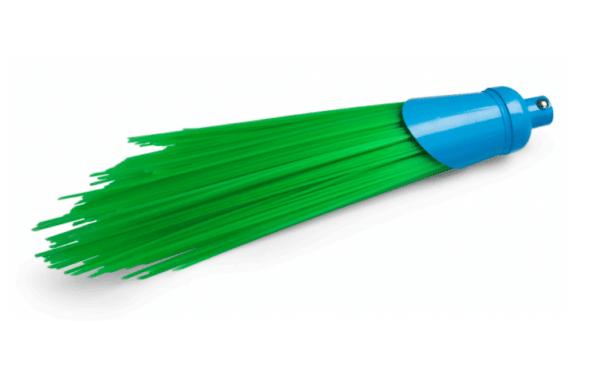 scopa in polipropene senza manico